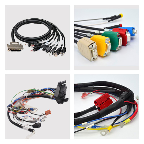 Custom Cable Assemblies Manufacturing / Ta Wire and Harness